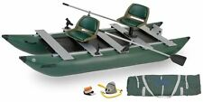 Sea Eagle 375 Fold Cat Deluxe Pontoon Platform fishing at it's best & portable