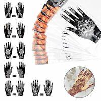 Beauty Tattoo Stencils Body Art Kit Temporary Hand Decal India Henna Sticker