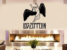"Led Zeppelin Album cover Rock music Legends fireplace bedroom wall window car25"""