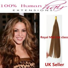 """Best Quality 18"""" 1g 7A Stick/I-Tip Double Drawn Remy Human Hair Extensions 1st"""