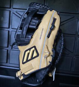"""Mizuno Pro Limited 1st Base Mitt R Hand Thrower MWV 300 13"""" First Base Glove RH"""