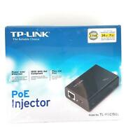 TP-Link Gigabit PoE Injector Adapter (TL-POE150S) Power Over Ethernet 802.3af