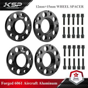 12mm&15mm BMW Wheel Spacers Black HubCentric F Series F30 F32 F33 F80 F10 M3 M4