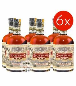 Don Papa Rum aus Philippinien / 40 % Vol. / 6 x 0,7 Liter-Flasche