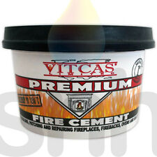 VitCas Black Fire Cement - 500G For Stoves,Boilers,Fireplaces,Flue Chimney