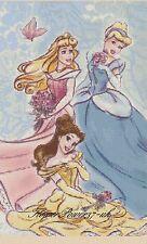 Princesas De Disney Gráfico de punto de cruz 359 FLOWERPOWER 37