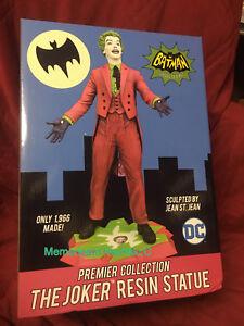 Diamond Select Toys DC 1966 Batman TV Series The Joker Premier Collection Statue