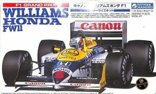 Gunze Sangyo 1:24 F1 Grand Prix Williams Honda FW11 Plastic Model Kit #1 #G471