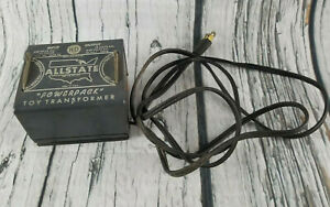Vintage Allstate Power Pack Toys Transformer For Model Railroads