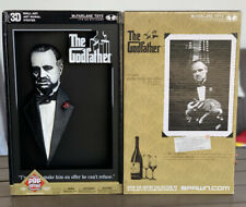 McFarlane 3-d Movie Poster The Godfather Marlon Brando
