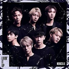 New Monsta X LIVIN'IT UP First Press Limited Edition CD Card Japan UMCE-9014