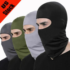 Summer  Thin Tactical Balaclava Quick Dry Full Face Mask Neck Hood Headwrap