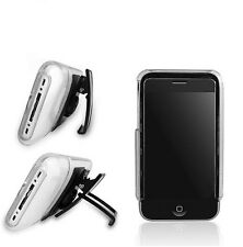 Macally ICECASEP Protective Clear Case With Removable Stand for iPhone 3G