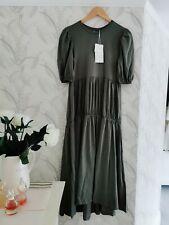 Zara Garthered  Long Dress Size M BNWT