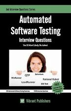 Automated Software Testing Interview Questions You'll Most Likely Be Asked by...
