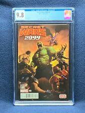Secret Wars 2099 #2 Vol 1 Comic Book - CGC 9.8