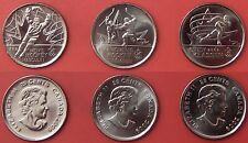 Brilliant Uncirculated 2009 Canada 3 Moments Plain 25 Cents From Mint's Rolls