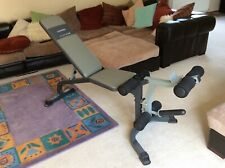 Marcy Platinum Weight Incline Bench With Leg Developer Very Good Condition