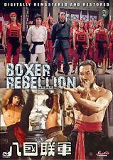 BOXER REBELLION - Hong Kong RARE Kung Fu Martial Arts Action movie - NEW DVD