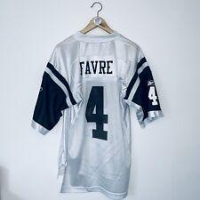 FAVRE 4 New York Jets Reebok NFL Jersey Used-Great Adult Medium