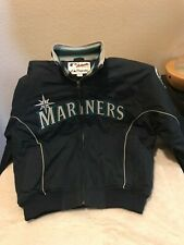 Authentic Majestic Collection MLB Stitched Seattle Mariners Men Large Jacket