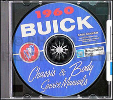 1960 Buick CD Manual Taller y Cuerpo Reparación 60 Lesabre Invicta Electra