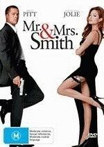 MRS & MRS SMITH - BRAND NEW & SEALED ACTION DVD (BRAD PITT, ANGELINA JOLIE)