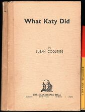 C1940s WHAT KATY DID Shakespeare Head Press hardcover VGC.