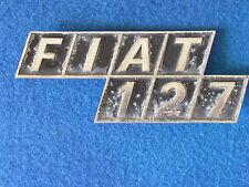 Fiat 127 - Boot Badge / Emblem