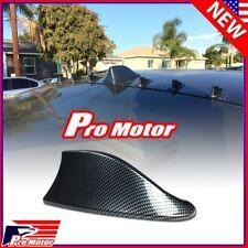 Universal Carbon Fiber print Shark Fin Antenna Aerial Auto Roof Decorative Cover