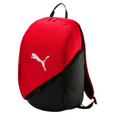 e7ff650859bbf PUMA Liga Backpack Rucksack Red 075214 02 Zip Padded Laptop Adjustable  School