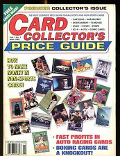 Card Collector's Price Guide May 1992 w/Mint Cards jhscd