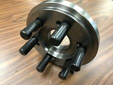 """8"""" D1-6, D6 semi-finished adapter Plate for CHUCKS-""""surplus deal""""  #ADP-08-D6SM"""