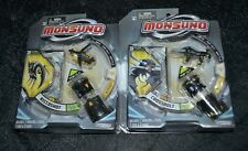 MONSUNO TOYS  RICCOSHOT , CROSSBOLT , ACTION SETS TWO
