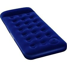 Bestway 67223 Single Inflatable Camping Air Mattress with Built-in Foot Pump