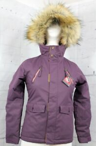 686 Girl's Youth Ceremony Insulated Snow Jacket Small, Blackberry Fade New 2020