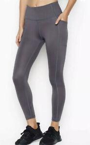 Victoria's Secret Hurricane Grey Essential Studio 7/8 Leggings RRP £59.99