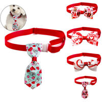 1pc Cute Small Pet Dog Cat Bow Tie Collar Necktie Ribbon Adjustable Puppy