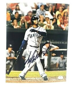 Ken Griffey Jr. Seattle Mariners Hand Signed Autographed 8x10 MLB Photo With COA