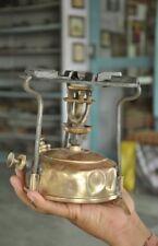 Vintage Brass & Iron HASAG No. 00 Unique Shape Kerosene Stove, Germany