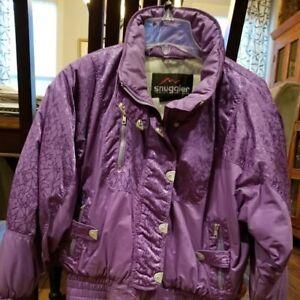 Snuggler Ski Wear by Kaelin, Ladies' Size 6 Ski Jacket, Purple
