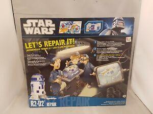 R2-D2 Repair it Star Wars Clone Wars operation type game new