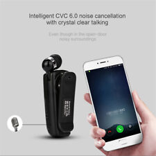 Clip-on Wireless Bluetooth Headset Business Earphone bluetooth headset Earphone
