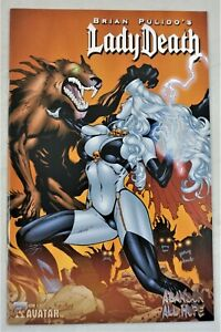 LADY DEATH ABANDON ALL HOPE #3 Platinum Foil Variant Ron Adrian Cover NM