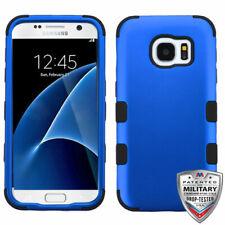 MYBAT Titanium Dark Blue/Black TUFF Hybrid Case for G930 (Galaxy S7)