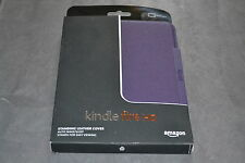 Amazon Kindle Fire HD 7 Standing Leather Case Royal Purple Will Only Fit