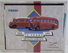 BUSES : THE EAST KENT SET. 1 REGAL & 1 BEDFORD OB COACH CORGI SET 97750 (DT)