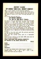 1962 Parkhurst #100 Entry Game Card  EX+ X1416318