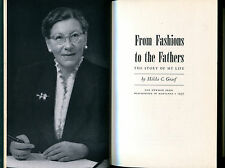 From Fashions to the Fathers: The Story of My Life by Hilda C. Graef, 1957