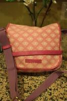 Dooney & Bourke signature DB  Canvas Flap Crossbody Bag (pu3000
